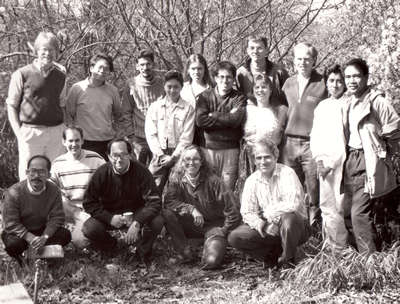 Early members of the ELAW network in March, 1992
