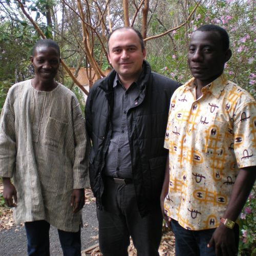 Francis, Merab, and Kwesi at ELAW