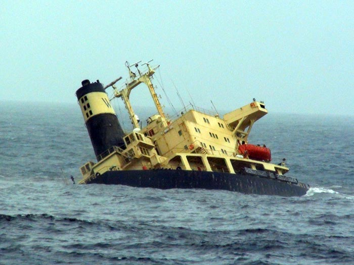 In 2011, the crew was rescued when the MV Rak sank off the coast of Mumbai, India. The ship and 60,000 tons metric tons of coal remain on the ocean floor.