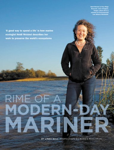 "ELAW's Heidi Weiskel in ""Rime of a Modern-Day Mariner"""