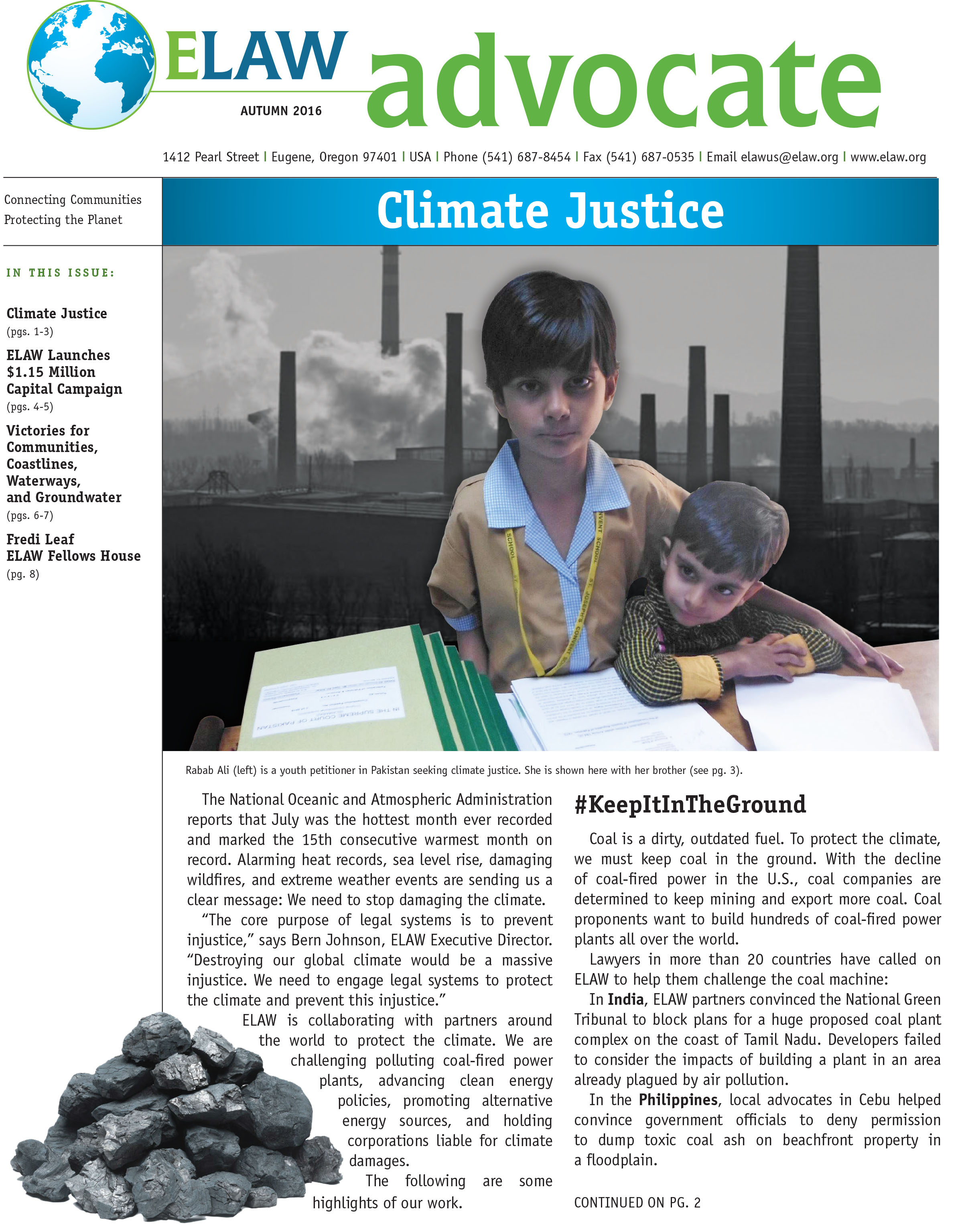 Advocate, Autumn 2016